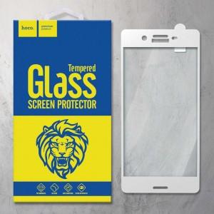 Miếng dán cường lực Sony Xperia X F5122 hiệu HOCO Full màn hình (Trắng)