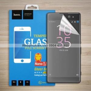 Miếng dán màn hình Sony Xperia XA Ultra F3216 hiệu Hoco Nano siêu dẻo