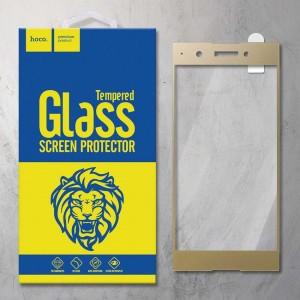 Miếng dán cường lực Sony Xperia XA1 Plus hiệu HOCO Full màn hình (Vàng)