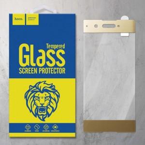 Miếng dán cường lực Sony Xperia XA1 hiệu HOCO Full màn hình (Vàng)