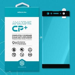 Miếng dán cường lực Sony Xperia XA2 Plus hiệu Nillkin Full (Đen)