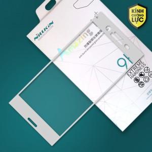 Miếng dán cường lực Sony Xperia XZ Premium hiệu Nillkin Full màn hình (Trắng)