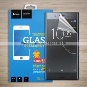 Miếng dán màn hình Sony Xperia XZ Premium hiệu Hoco Nano siêu dẻo