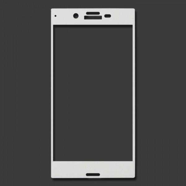 Miếng dán cường lực Sony Xperia XZ Full màn hình (Trắng)