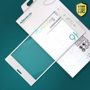 Miếng dán cường lực Sony Xperia XZ Dual hiệu Nillkin Full màn hình (Trắng)
