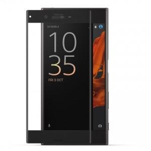 Miếng dán cường lực Sony Xperia XZ Full màn hình (Đen)