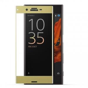 Miếng dán cường lực Sony Xperia XZ Full màn hình (Vàng)