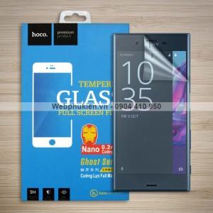 Miếng dán màn hình Sony Xperia XZ F8332 hiệu Hoco Nano siêu dẻo