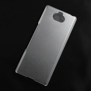 Ốp lưng nhựa cứng Sony Xperia 10 nhám trong