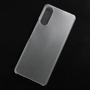 Ốp lưng nhựa cứng Sony Xperia 10ii nhám trong