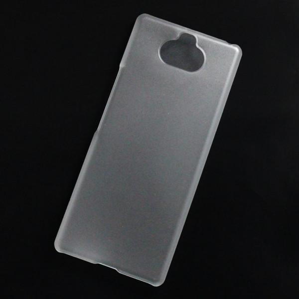 Ốp lưng nhựa cứng Sony Xperia 8 nhám trong