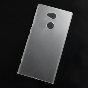 Ốp lưng nhựa cứng Sony Xperia XA2 Ultra nhám trong