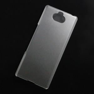 Ốp lưng nhựa cứng Sony Xperia XA3 nhám trong