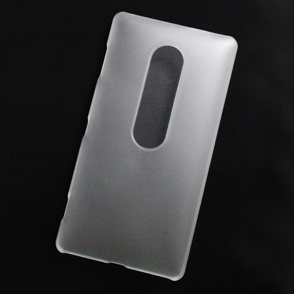 Ốp lưng nhựa cứng Sony Xperia XZ2 Premium nhám trong