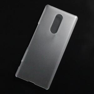 Ốp lưng nhựa cứng Sony Xperia XZ4 nhám trong