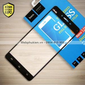 Miếng dán cường lực Vivo V3 Max hiệu HOCO Full màn hình (Đen)