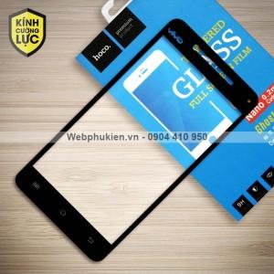 Miếng dán cường lực Vivo V3 hiệu HOCO Full màn hình (Đen)