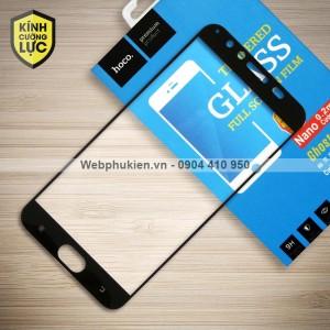 Miếng dán cường lực Vivo V5 Plus hiệu HOCO Full màn hình (Đen)