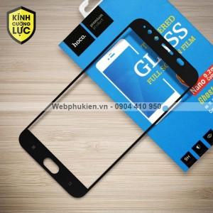 Miếng dán cường lực Vivo X9 Plus hiệu HOCO Full màn hình (Đen)