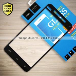 Miếng dán cường lực Vivo Y53 hiệu HOCO Full màn hình (Đen)