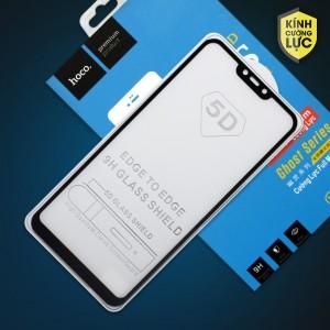 Miếng dán cường lực Vivo Y81 hiệu HOCO Full màn hình (Đen)