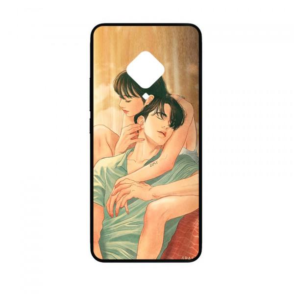 Ốp lưng kính in hình cho Vivo S5 hình valentine (mẫu 10) - Hàng chính hãng