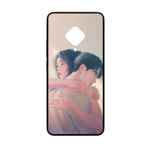 Ốp lưng kính in hình cho Vivo S5 hình valentine (mẫu 25) - Hàng chính hãng