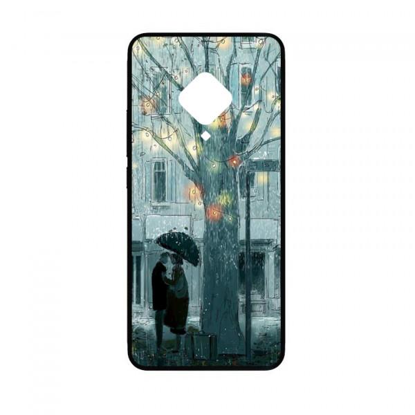 Ốp lưng kính in hình cho Vivo S5 hình valentine (mẫu 27) - Hàng chính hãng