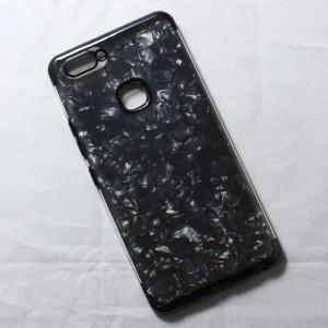 Ốp lưng Vivo X20 Plus vân đá (Đen)