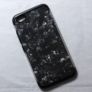 Ốp lưng Vivo X9S vân đá (Đen)