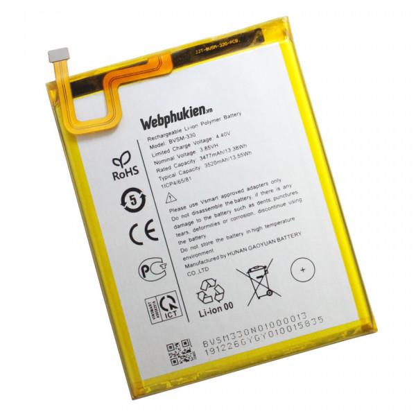 Pin Vsmart Star 3 BVSM-330 dung lượng 3520mAh