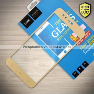 Miếng dán cường lực Xiaomi Mi A1 hiệu HOCO Full màn hình (Vàng)