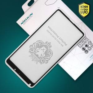 Miếng dán cường lực Xiaomi Mi Mix 2S hiệu Nillkin Full Keo (Đen)