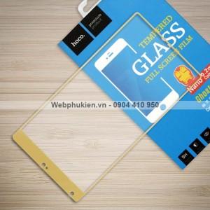 Miếng dán cường lực Xiaomi Mi Mix hiệu HOCO Full màn hình (Vàng)