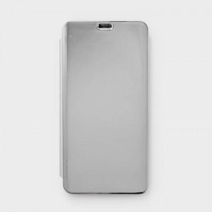 Bao da Xiaomi Redmi Note 5 Pro Clear View tráng gương (Bạc)