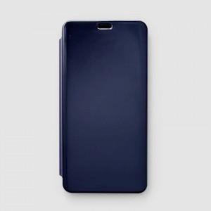 Bao da Xiaomi Redmi Note 5 Pro Clear View tráng gương (Xanh Navy)