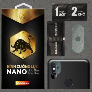 Kính dán cường lực Camera Xiaomi Redmi Note 5 Pro chính hãng Web Phụ Kiện