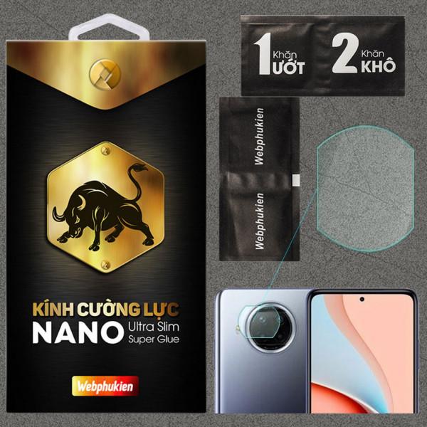 Kính dán cường lực Camera cho Xiaomi Redmi Note 9 Pro 5G chính hãng Web Phụ Kiện