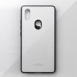 Ốp lưng Xiaomi Mi 8 SE tráng gương viền dẻo (Trắng)