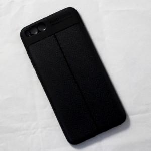 Ốp lưng Xiaomi Mi Note 3 Auto Focus vân da (Đen)