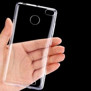 Ốp lưng Xiaomi Redmi 3S dẻo (trong suốt)