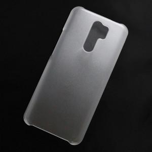 Ốp lưng nhựa cứng Xiaomi Redmi 9 nhám trong