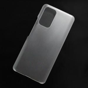 Ốp lưng nhựa cứng Xiaomi Redmi Note 10 Pro, Note 10 Pro Max 4G nhám trong