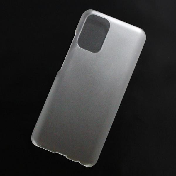 Ốp lưng nhựa cứng Xiaomi Redmi Note 10, Redmi Note 10S 4G nhám trong