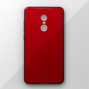 Ốp lưng Xiaomi Redmi Note 4 tráng gương viền dẻo (Đỏ)