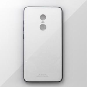 Ốp lưng Xiaomi Redmi Note 4 tráng gương viền dẻo (Trắng)