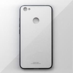 Ốp lưng Xiaomi Redmi Note 5A Prime tráng gương viền dẻo (Trắng)