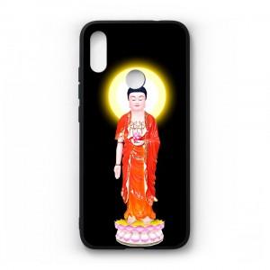 Ốp lưng kính in hình cho Xiaomi Redmi Note 7 Pro in hình tượng phật (mẫu22) - Hàng chính hãng