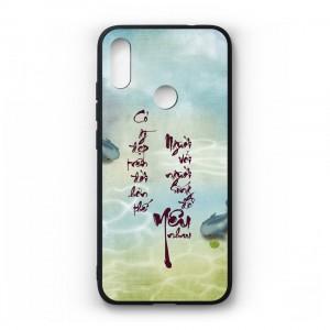 Ốp lưng kính in hình cho Xiaomi Redmi Note 7 Pro in hình thư pháp(mẫu31) - Hàng chính hãng