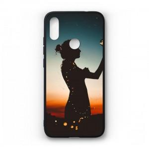Ốp lưng kính in hình cho Xiaomi Redmi Note 7 in hình ngày 8 tháng 3 (mẫu55) - Hàng chính hãng